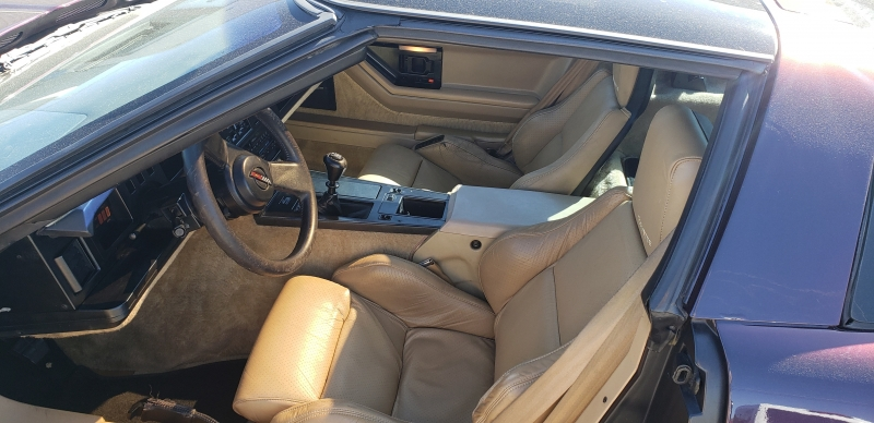 Chevrolet Corvette 1986 price $9,500