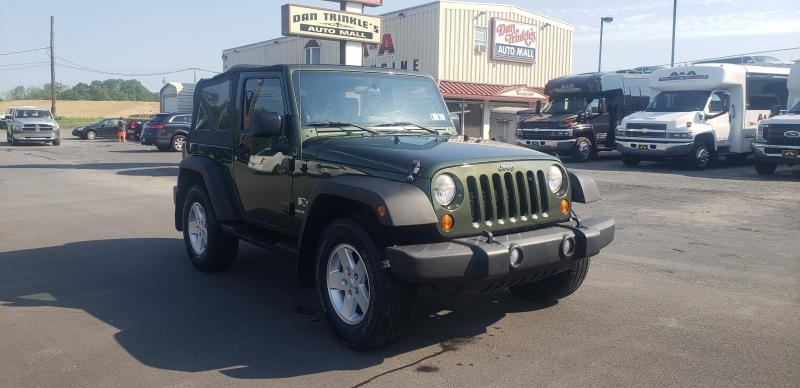 Jeep Wrangler 2008 price $12,900