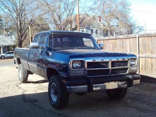 1993 Dodge D250 & W250