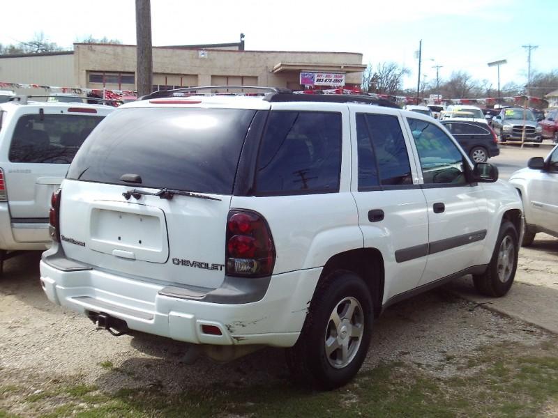 Chevrolet TrailBlazer 2004 price $3,495