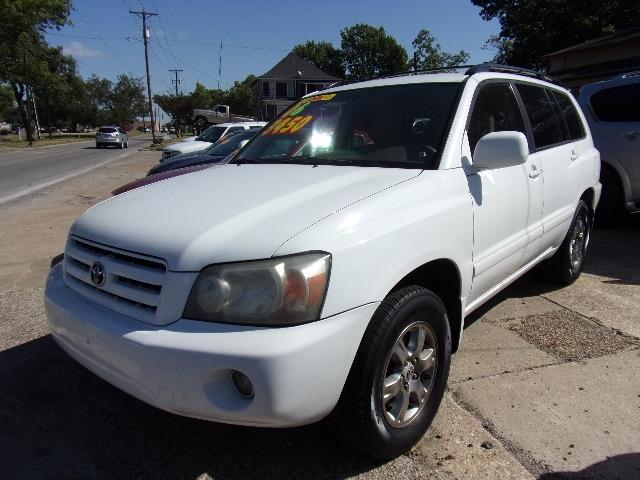 Toyota Highlander 2006 price $3,450
