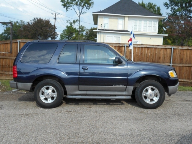 Wonderful 2001 Ford Explorer Sport 2DR (Blue)