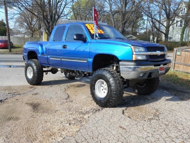 2003 Chevrolet 1500 Z71 Stepside Lifted Inventory