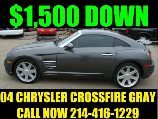 2004 Chrysler Crossfire Cpe 2Drs Gray - Inventory   REGIO