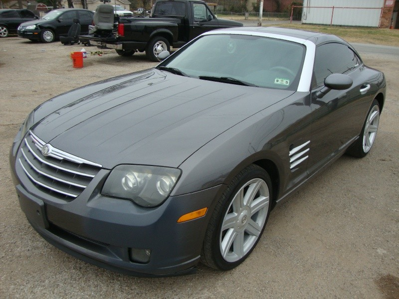 2004 Chrysler Crossfire Cpe 2Drs Gray - Inventory | REGIO