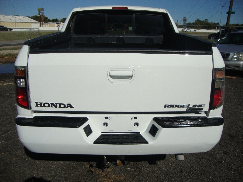 2007 honda ridgeline 4wd crew cab rts white inventory. Black Bedroom Furniture Sets. Home Design Ideas