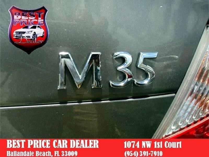 Infiniti M35 2008 price $4,999
