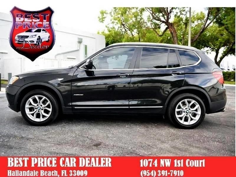 BMW X3 2011 price $8,499