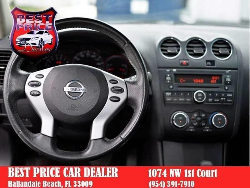 Nissan Altima 2009 price $4,499