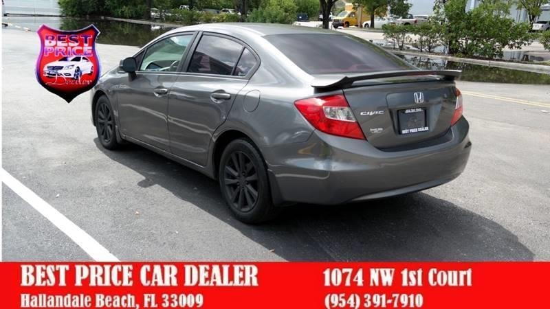 Honda Civic 2012 price $4,499