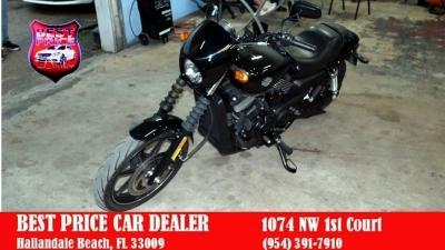 Harley-Davidson xg 750 motor cycle 2015