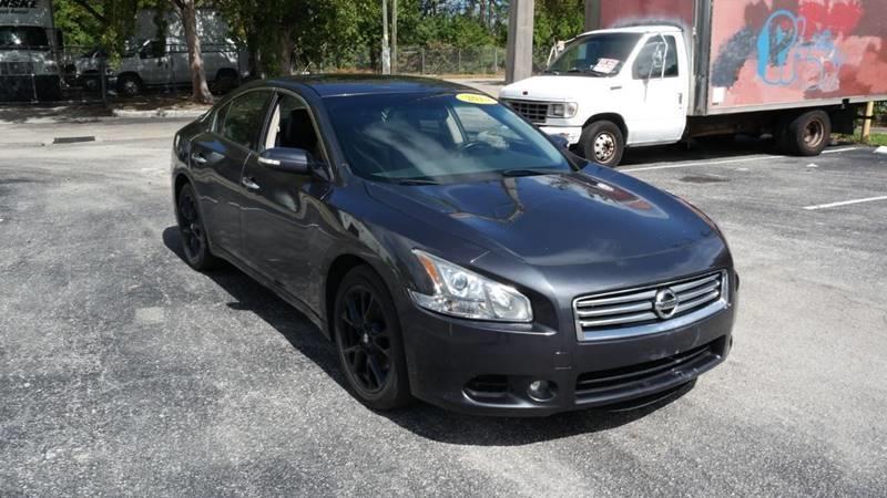 Nissan Maxima 2013 price $6,999