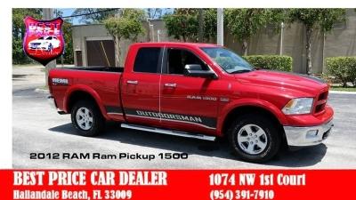 RAM Ram Pickup 1500 2012