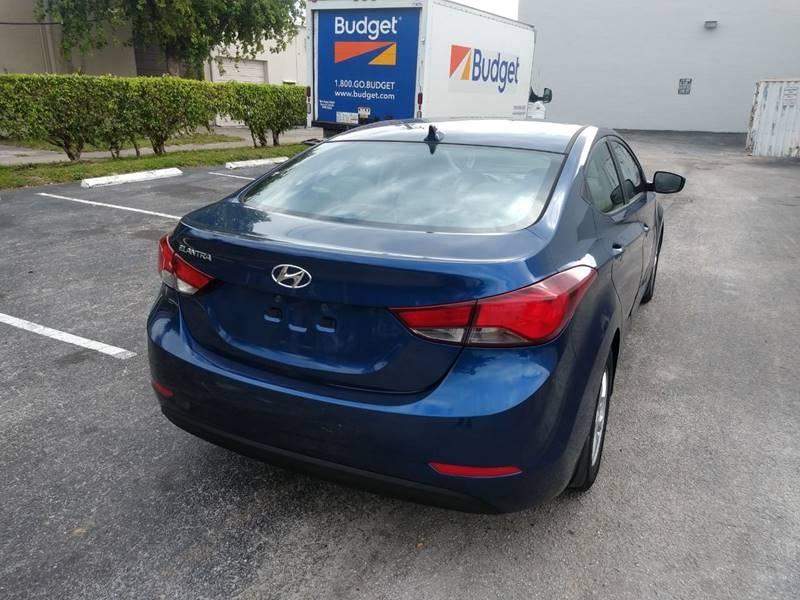 Hyundai Elantra 2015 price $6,999
