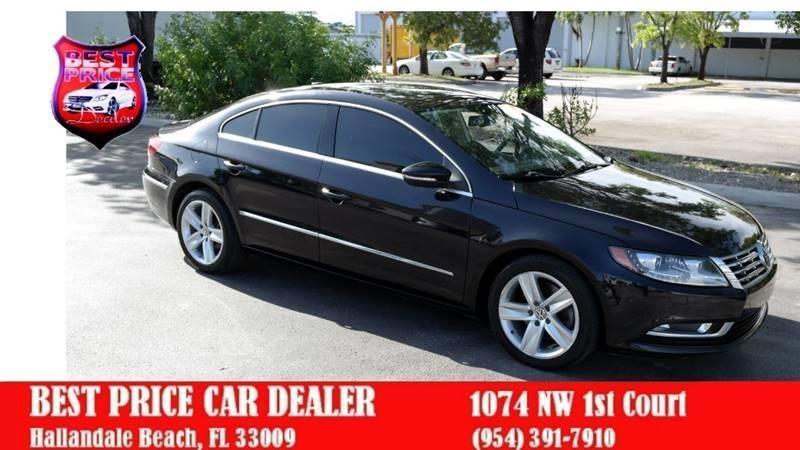 Volkswagen CC 2013 price $5,999