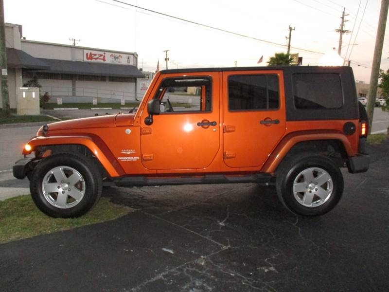 Jeep Wrangler Unlimited 2010 price $14,999