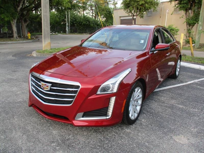 Cadillac CTS 2015 price $15,499