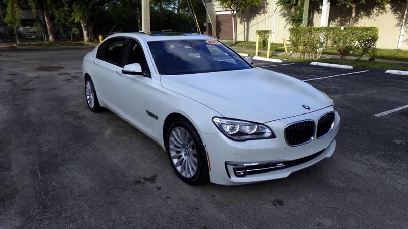 BMW 7 Series 2014 price $34,999