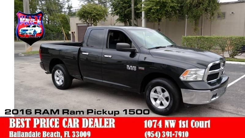 RAM Ram Pickup 1500 2016 price $17,499