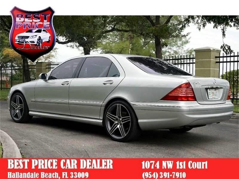 Mercedes-Benz S-Class 2006 price $4,999