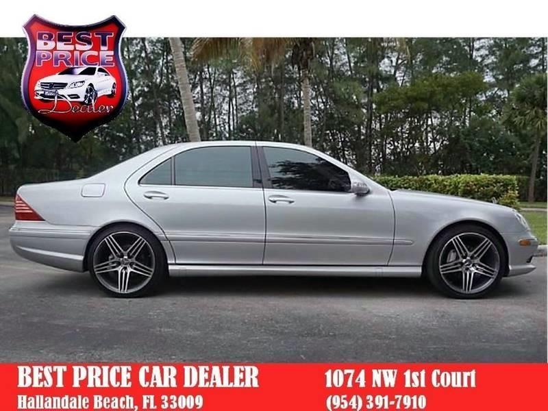 Mercedes-Benz S-Class 2006 price $4,999