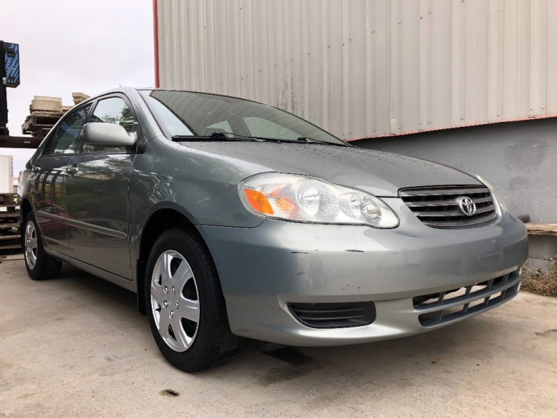 Toyota Corolla 2003 price $4,500 Cash