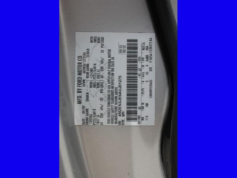 MERCURY MOUNTAINEER 2010 price $8,499