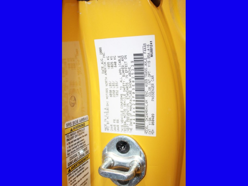 MITSUBISHI ECLIPSE 2009 price $6,999