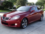 Lexus IS 250 c One Owner Convertible Hard Top 2010