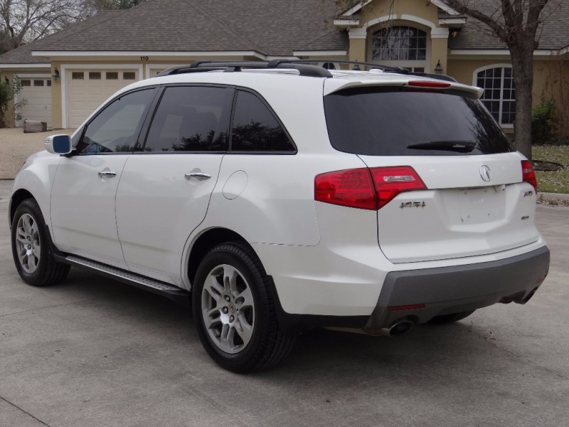 2008 acura mdx 4wd tech pkg with third row seat inventory
