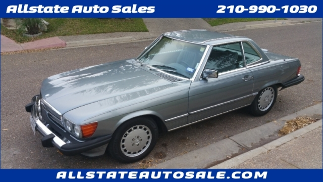 1989 Mercedes-Benz 560 Series Hard top convertible