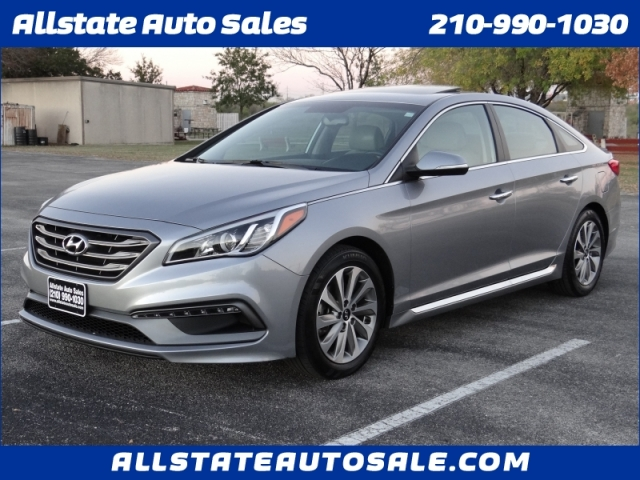 2017 Hyundai Sonata Sport One Owner