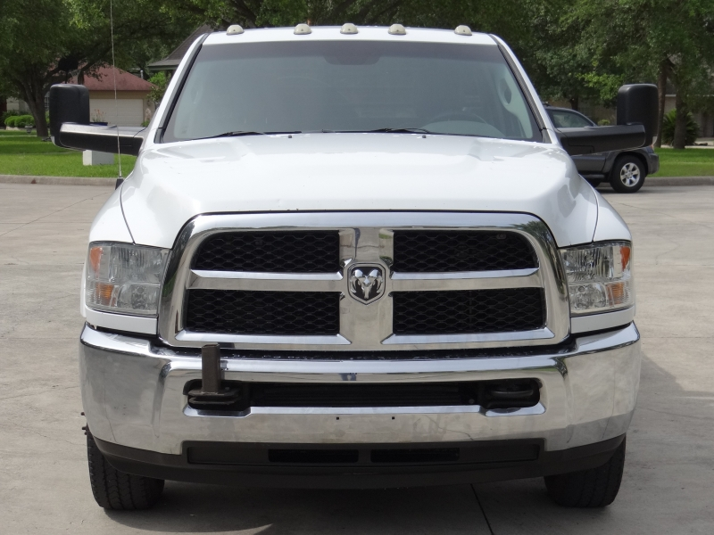RAM 3500 Tradesman Cummins Dually Flat Bed 12 ft 2014 price $13,995