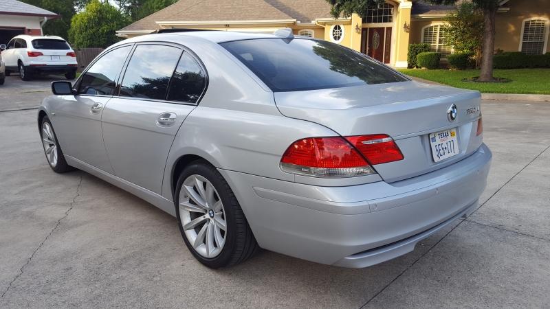 BMW 7 Series 750Li Low Miles 2007 price $8,995
