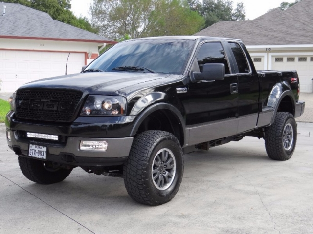 2005 Ford F 150 Supercab Flareside Fx4 Lifted Inventory