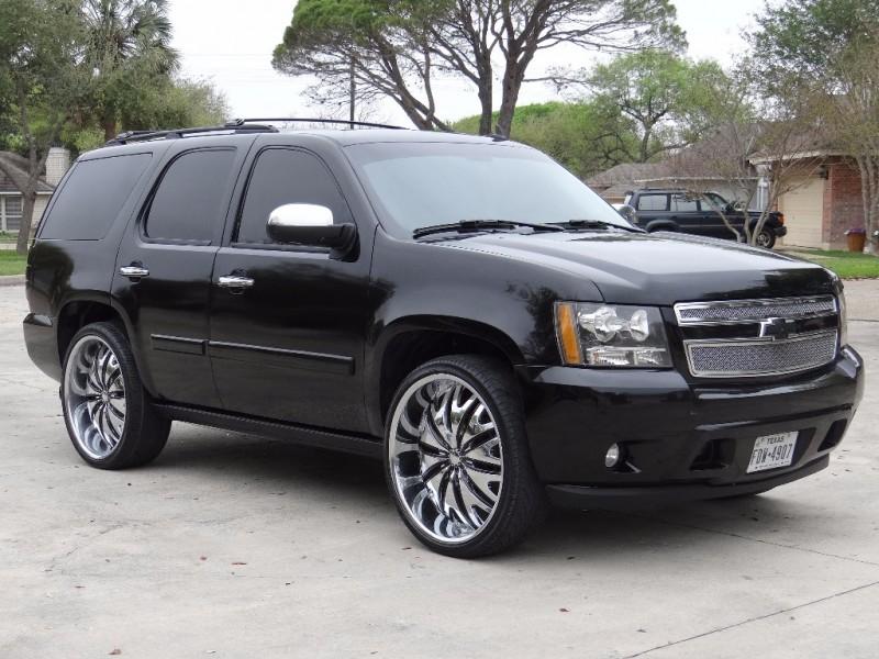 "Chevy Dealership San Antonio >> 2007 Chevrolet Tahoe LTZ With 26"" Wheels - Inventory | Allstate Auto Sales | Auto dealership in ..."