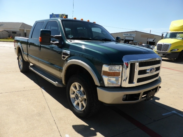 2008 ford f 250 4wd crew cab king ranch super nice good miles