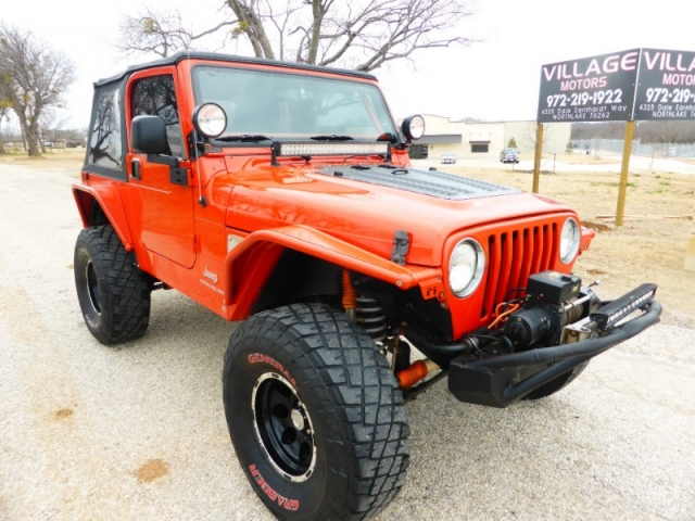 Jeep Mud Tires >> 2006 Jeep Wrangler 2dr Sport 13 995