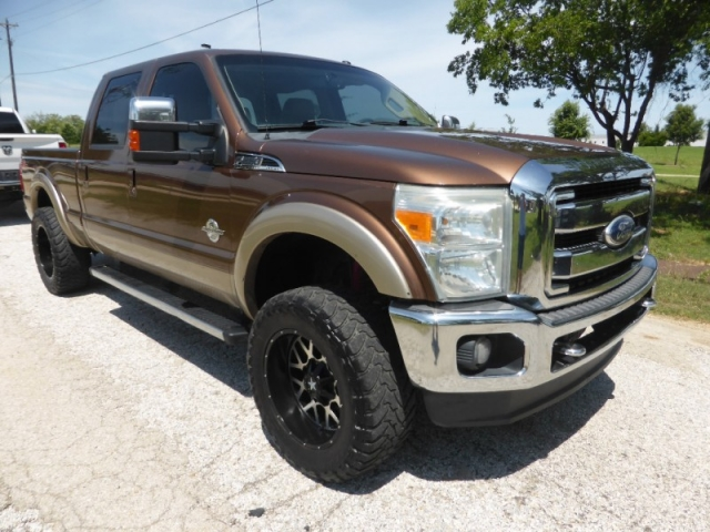 Ford F 250 Lifted >> 2011 Ford Super Duty F 250 4wd Crew Cab 156 Lariat 24 995