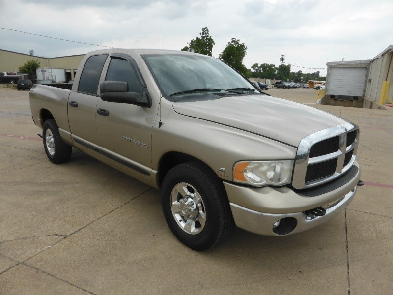 2005 Dodge Ram 2500 4dr Quad Cab Slt 5 9 Cummins 6 Speed
