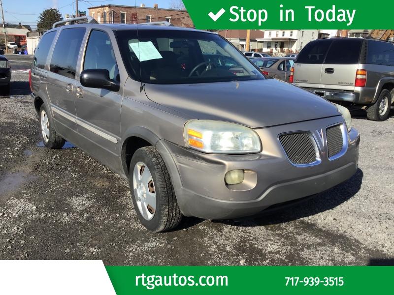 Pontiac Montana SV6 2006 price $1,999