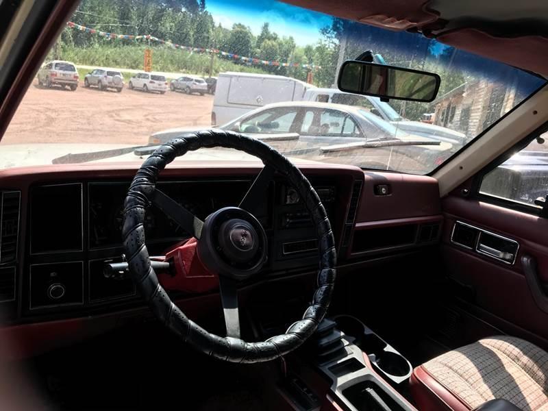 JEEP CHEROKEE 1985 price $6,995
