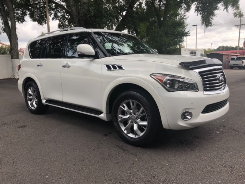 Infiniti QX56 W/ TECHNOLOGY PACKAGE 2012 price $22,390