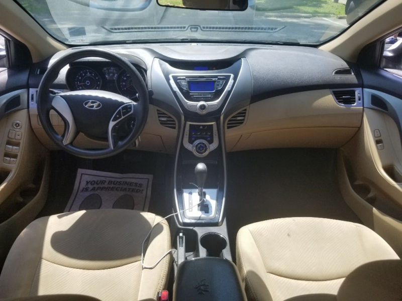 Hyundai Elantra 2012 price $6,500