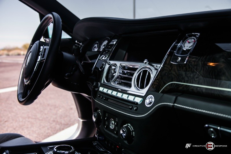 Rolls-Royce Wraith WALD BLK BISON edition 2014 price $209,500