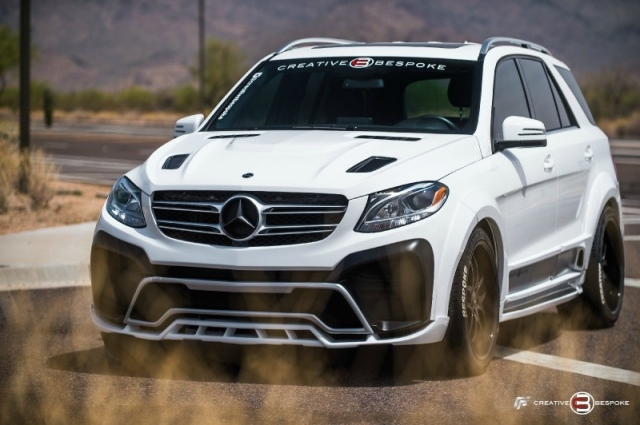 2017 Mercedes-Benz GLE WIDE BODY RENEGADE edition