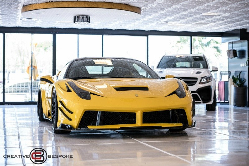 Ferrari 458 Italia WIDE BODY PRIOR DESIGN 2012 price $212,988