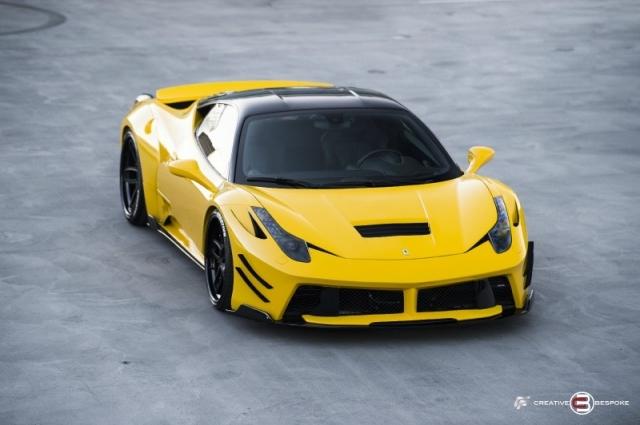 2012 Ferrari 458 Italia WIDE BODY PRIOR DESIGN