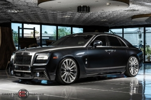 Rolls-Royce GHOST WALD BLACK BISON EDITION 2011