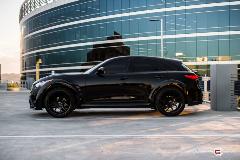 Infiniti QX70 WIDE BODY BESPOKE EDITION 2017 price $39,980